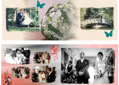 Mise en page-Mariage-CMYK-Graphiste
