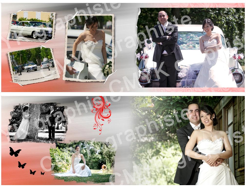 Très Mise en page d'album photo numérique - CMYK Graphiste|Graphiste  RY57