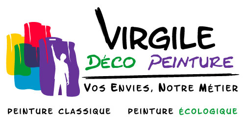 Création du logo / Société de peinture et décoration d'intérieur / Illustrator