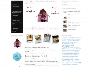 Création de la Mise en page pour un article sur un Blog Culinaire