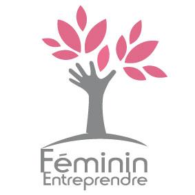 Rajeunissement du logo / Réseaux d'entreprise Féminin Entreprendre