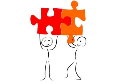 Visuel / Création de personnages pour illustrer un site d'outil collaboratif