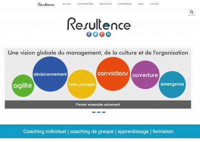 Site Vitrine WordPress /  Site de Coaching