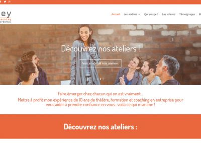 "Site Vitrine WordPress de coaching <a href= ""http://www.kituey.fr/"">Voir le site de kituey</a>"