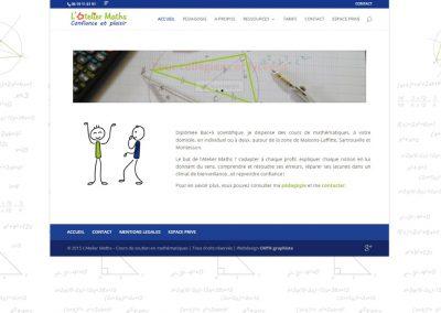 Site Vitrine WordPress de cours de soutien