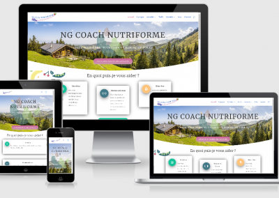 Site Vitrine WordPress de coaching